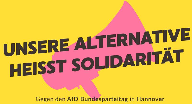 Unsere Alternative heisst Solidarität